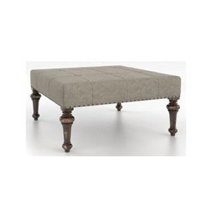 Canadel Champlain - Living <b>Customizable</b> Square Ottoman