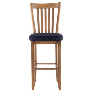 "Canadel Champlain - Custom Dining <b>Customizable</b> 30"" Uph Fixed Bar Stool"