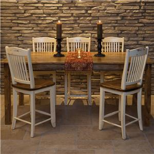 Canadel Champlain - Custom Dining <b>Customizable</b> Pub Table and Chair Set