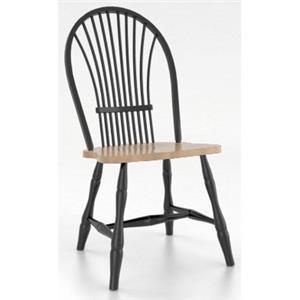 Canadel Custom Dining <b>Customizable</b> Windsor Side Chair