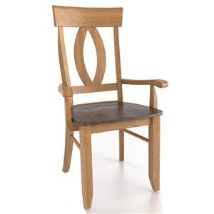 Canadel Custom Dining <b>Customizable</b> Armchair