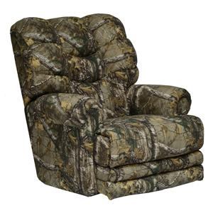 Catnapper Motion Chairs and Recliners Big Falls Duck Dynasty Lay Flat Recliner