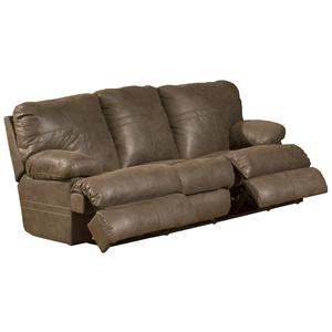 Catnapper Ranger - Chocolate Reclining Sofa
