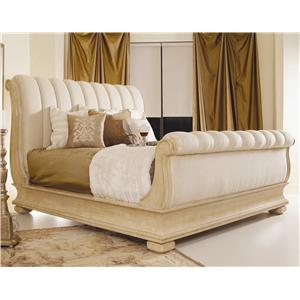 Century Caravelle Upholstered Sleigh Bed