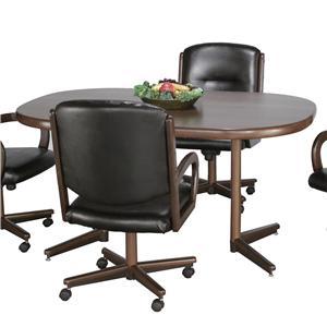Chromcraft Custom Casual Dining Customizable Casual Table