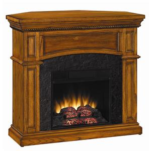 ClassicFlame Nantucket CF Dual Mantel 18 Inch Electric Fireplace