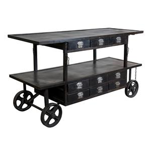 Coast to Coast Imports Jadu Accents Media Trolly