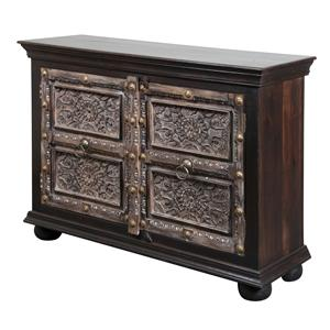 Coast to Coast Imports Jadu Accents 2 Door Cabinet