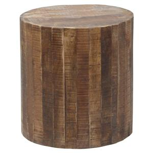 Coast to Coast Imports Jadu Accents Round Stool with Casters