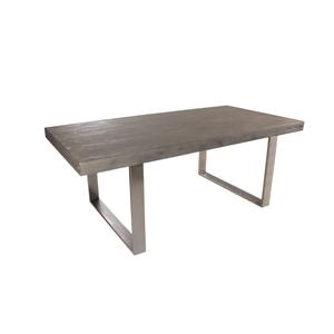 Coast to Coast Imports Jadu Accents Rectangular Concrete Dining Table