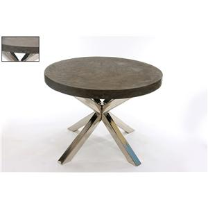 Coast to Coast Imports Jadu Accents Round Concrete Dining Table