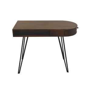 Coast to Coast Imports Jadu Accents One Drawer Writing Desk
