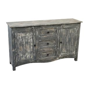 Coast to Coast Imports Jadu Accents Three Drawer Two Door Sideboard
