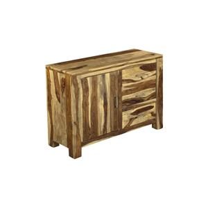 Coast to Coast Imports Jadu Accents Three Drawer One Door Sideboard