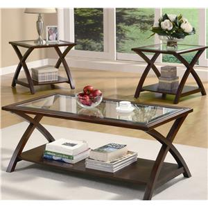 Coaster 3 Piece Occasional Table Sets 3 PC Occasional Group