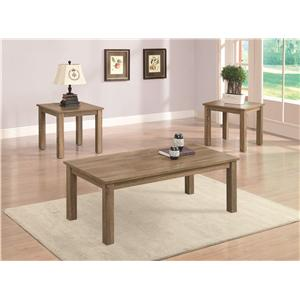 Coaster 3 Piece Occasional Table Sets 3 Piece Occasional Table Set