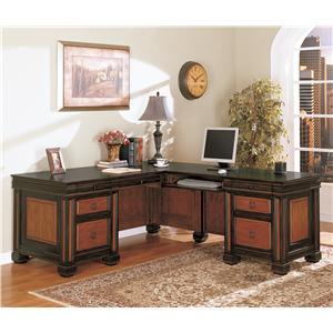 Coaster Chomedey L Shape Desk