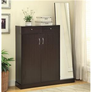 Coaster Accent Cabinets Shoe Cabinet
