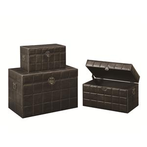 Coaster Accent Cabinets Storage Trunk (L)