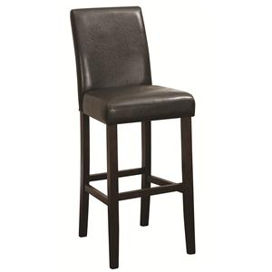 Coaster Accent Seating Bar Height Stool