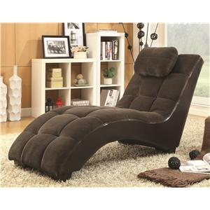 Coaster Accent Seating Chaise Lounger