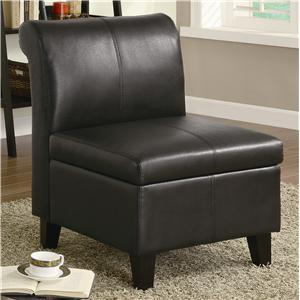 Coaster Accent Seating Armless Chair