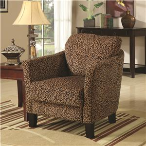 Coaster Accent Seating Jungle Accent Chairs