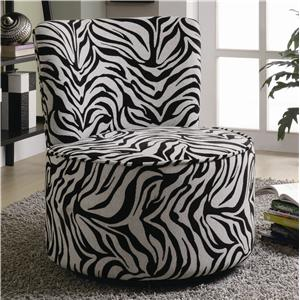 Coaster Accent Seating Swivel Chair