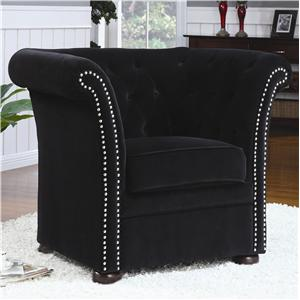 Coaster Accent Seating High-Back Chair