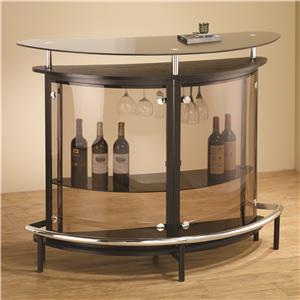 Coaster Bar Units and Bar Tables Bar Unit