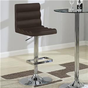 Coaster Bar Units and Bar Tables Stool (Brown)