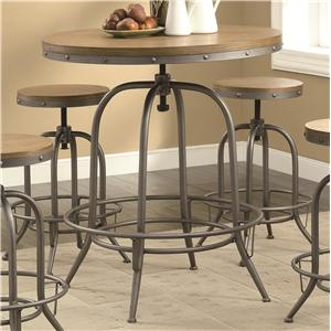 Coaster Bar Units and Bar Tables Adjustable Bar Table