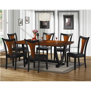 Coaster Boyer 7 Piece Dining Table Set