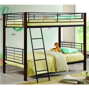 Coaster Bunks Twin/Twin Bunk Bed