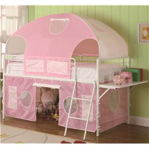 Coaster Bunks Tent Bunk Bed