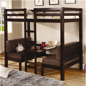 Coaster Bunks Convertible Loft Bed