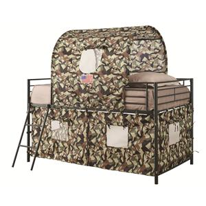 Coaster Bunks Camouflage Tent Bed