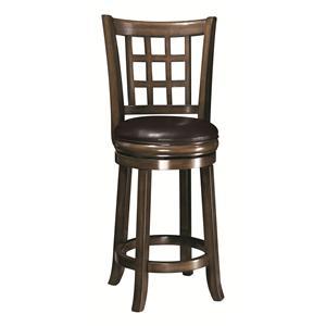 "Coaster Dining Chairs and Bar Stools 24""H Bar Stool"