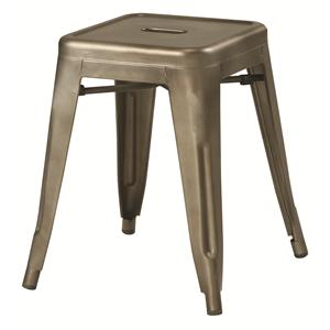 Coaster Dining Chairs and Bar Stools Bronze-Colored Metal Stool