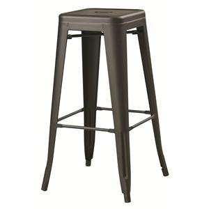 Coaster Dining Chairs and Bar Stools Black Metal Counter Height Stool