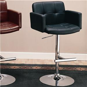 """Coaster Dining Chairs and Bar Stools 29"""" Upholstered Bar Chair"""