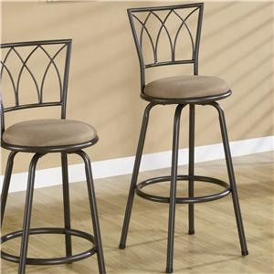 "Coaster Dining Chairs and Bar Stools 29"" Metal Bar Stool"