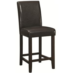 """Coaster Dining Chairs and Bar Stools 24"""" Counter Height Stool"""