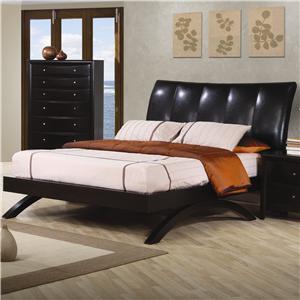 Coaster Phoenix Queen Upholstered Bed