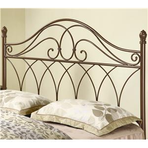 Coaster Iron Beds and Headboards Full/Queen Brown Metal Headboard
