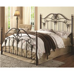 Coaster Iron Beds and Headboards Dahlia Iron Bed