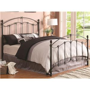 Coaster Iron Beds and Headboards Yasmine Queen Iron Bed