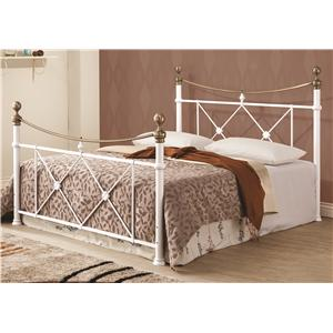 Coaster Iron Beds and Headboards Lucille Metal Full Bed