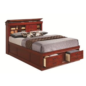 Coaster Louis Philippe Queen Storage Bed