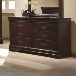 Coaster Louis Philippe Drawer Dresser